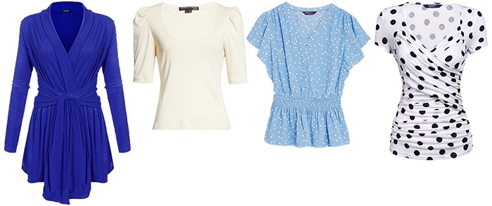 Tops to wear for the hourglass body shape   40plusstyle.com
