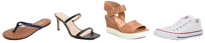 Jeniffer Anniston inspired shoes | 40plusstyle.com