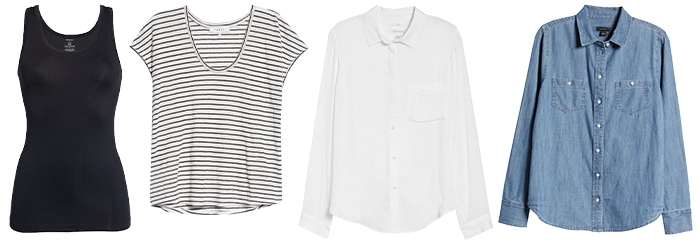 How to dress like Jennifer Aniston: blouse and tops guide | 40plusstyle.com