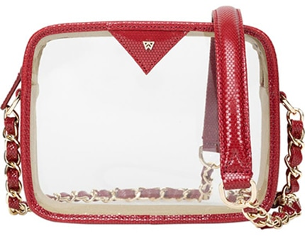Kelly Wynne Clear Mingle Mingle Mini Crossbody Bag   40plusstyle.com
