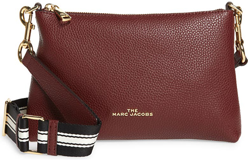 The Marc Jacobs Leather Crossbody Bag   40plusstyle.com