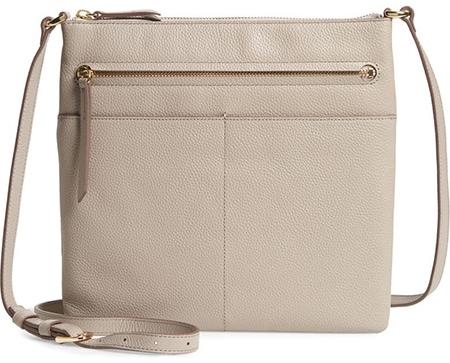 Nordstrom Phoebe Leather Crossbody Bag   40plusstyle.com