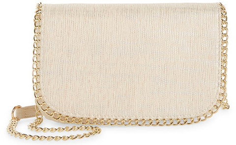 Nordstrom Bianca Faux Leather Wallet on a Chain   40plusstyle.com