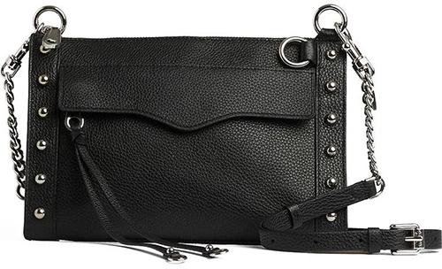 Rebecca Minkoff M.A.B. Leather Bag   40plusstyle.com