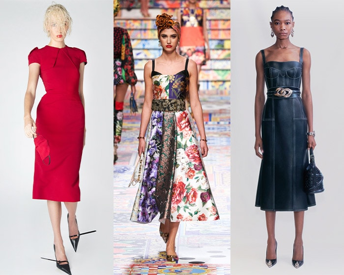 Designer inspiration on how to dress the hourglass   40plusstyle.com