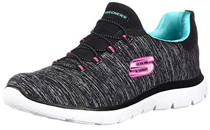Skechers Summits-Quick Getaway Sneaker   40plusstyle.com