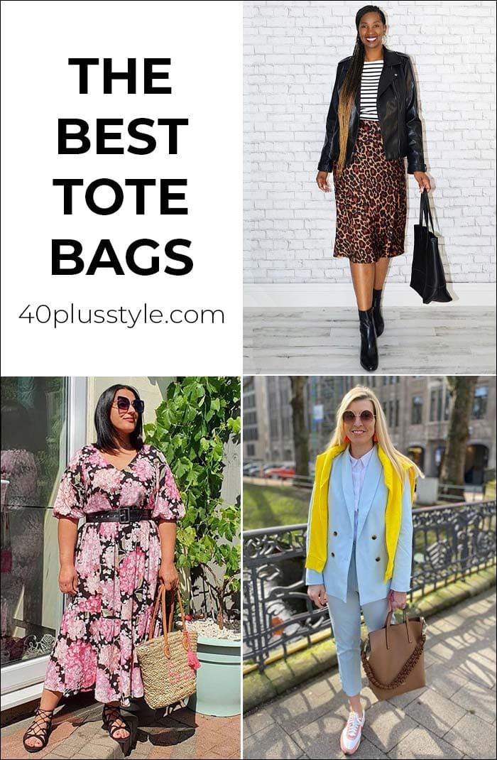 The best tote bags to fit everything you need everyday | 40plusstyle.com