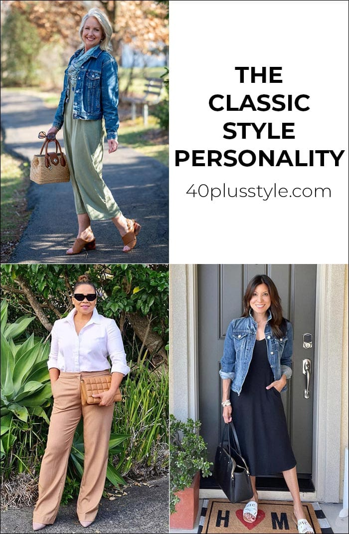 A style guide and capsule wardrobe for the CLASSIC style personality   40plusstyle.com