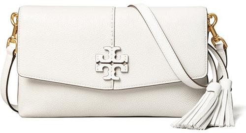 Tory Burch McGraw Leather Crossbody Bag   40plusstyle.com