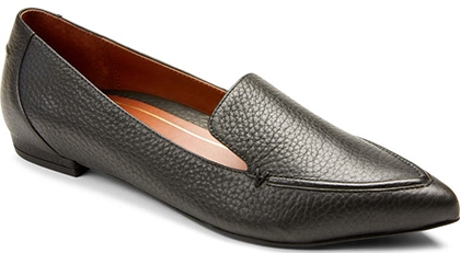 Vionic Noah Pointy Toe Loafer | 40plusstyle.com