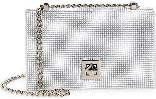 Whiting & Davis Mesh Crossbody Bag   40plusstyle.com