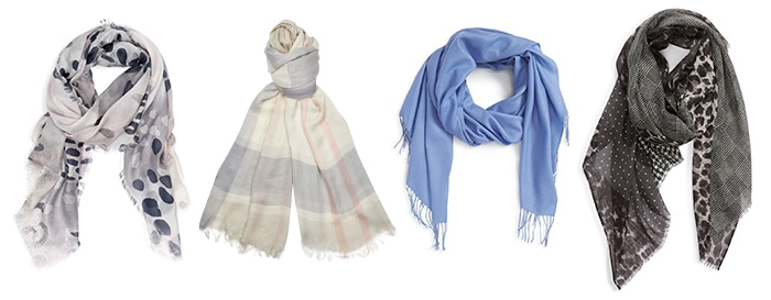 Scarves for layering | 40plusstyle.com