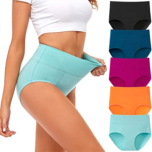 Most comfortable women's underwear - ASIMOON full coverage cotton panties | 40plusstyle.com
