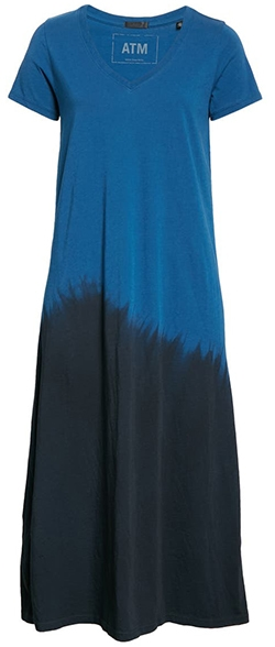 ATM Anthony Thomas Melillo dip dye T-shirt dress | 40plusstyle.com