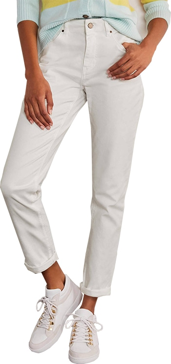 Boden girlfriend jeans | 40plusstyle.com