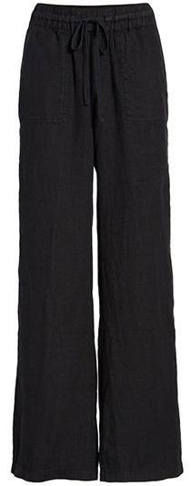 Pants to hide a belly - Caslon linen pants   40plusstyle.com