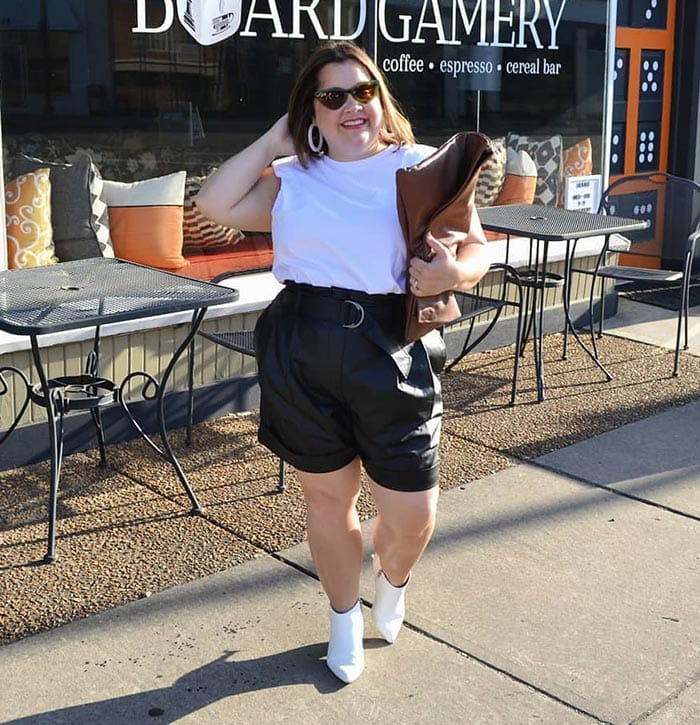 Best women's shorts - leather | 40plusstyle.com