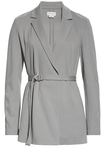 Club Monaco belted blazer | 40plusstyle.com