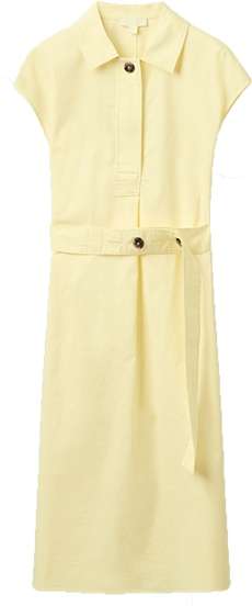 COS belted short dress | 40plusstyle.com