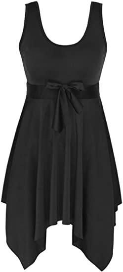 DANIFY Plus Size Swim Dress    40plusstyle.com