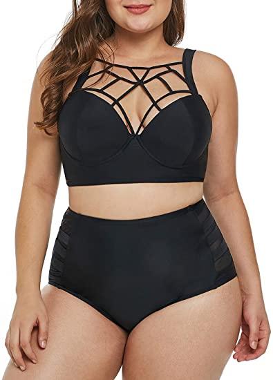Dearlove High Waist Bikini Set   40plusstyle.com