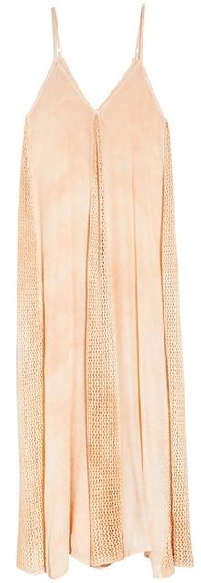 Elan Crochet Godet Cover-Up Maxi Dress   40plusstyle.com