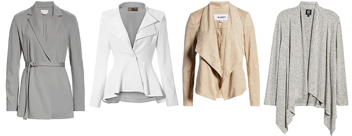 Jackets and cardigans to wear with white jeans | 40plusstyle.com