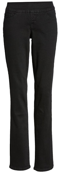 Jag Jeans pull-on straight leg jeans | 40plusstyle.com