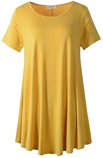 LARACE flare tunic top   40plusstyle.com
