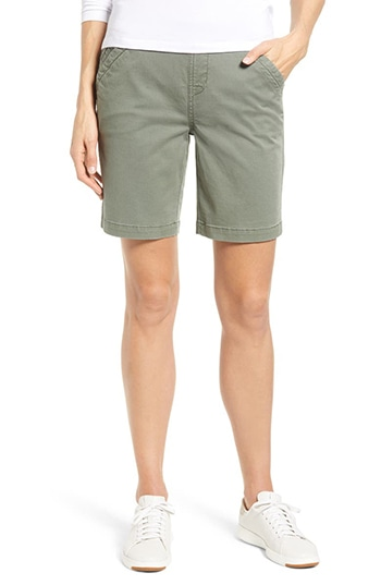Jag Jeans Gracie Stretch Cotton Shorts | 40plusstyle.com
