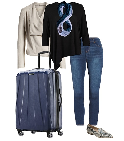 Modern travel clothes for women | 40plusstyle.com