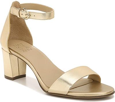 Best women's sandals - Naturalizer 'True Colors Vera' Ankle Strap Sandal   40plusstyle.com