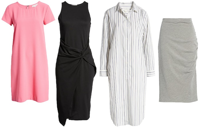 Dresses and skirts from Nordstrom   40plusstyle.com