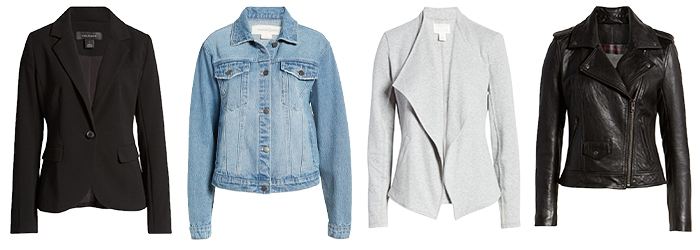 Casual summer outfits - jackets   40plusstyle.com