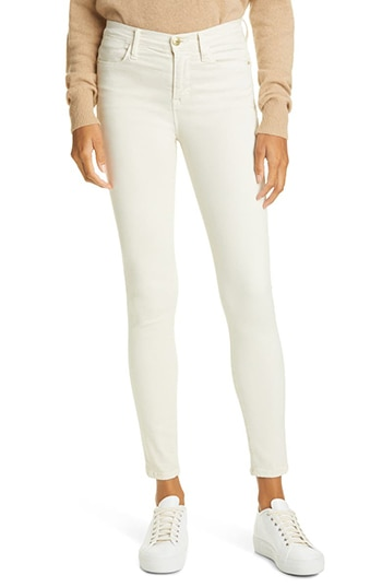 FRAME skinny jeans | 40plusstyle.com