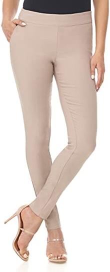 Rekucci Ease into Comfort skinny pants | 40plusstyle.com