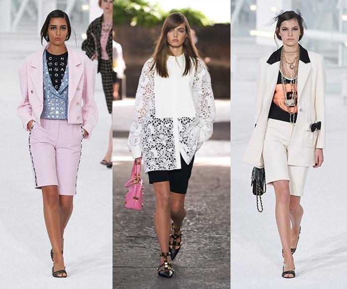 Runway shorts looks | 40plusstyle.com