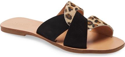 Seychelles 'Ray of Sunshine' Slide Sandal   40plusstyle.com