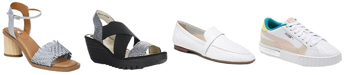 Shoes to wear with your jeans | 40plusstyle.com