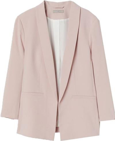 H&M straight-cut jacket | 40plusstyle.com