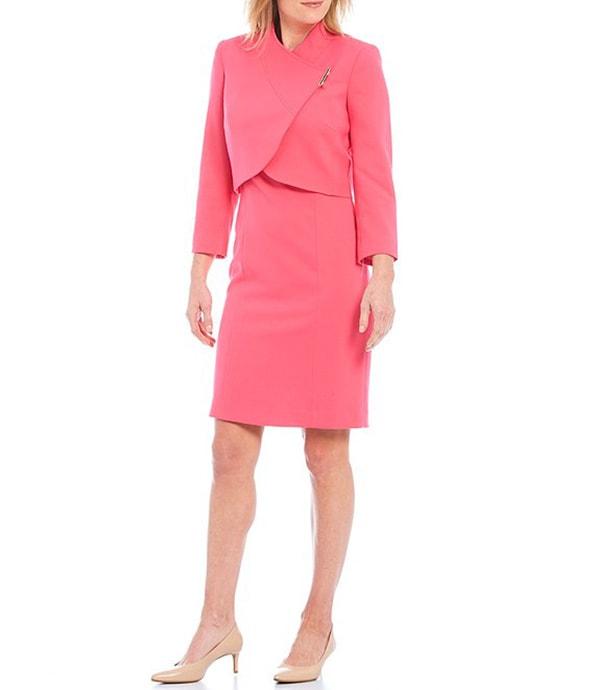 Tahari ASL 2-piece sheath dress suit | 40plusstyle.com