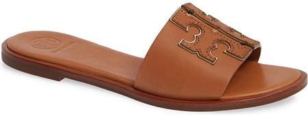 Tory Burch 'Ines' Slide Sandal   40plusstyle.com