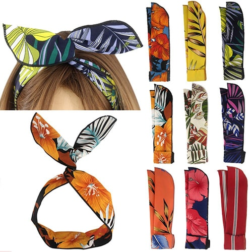 Yeshan twist bow wire headbands | 40plusstyle.com