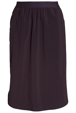 Zella woven pull-on skirt | 40plusstyle.com