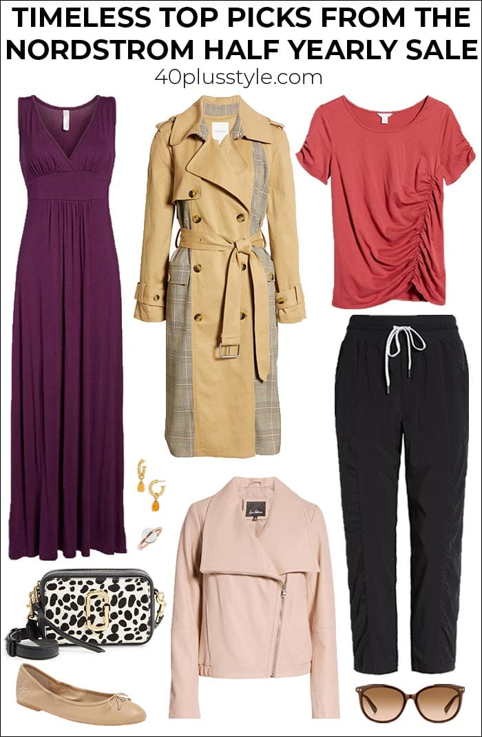 My truly timeless top picks from the Nordstrom half yearly sale | 40plusstyle.com