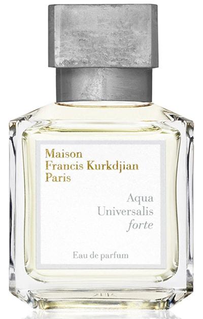 Summer perfumes - Maison Francis Kurkdjian  Aqua Universalis forte Eau de Parfum | 40plusstyle.com