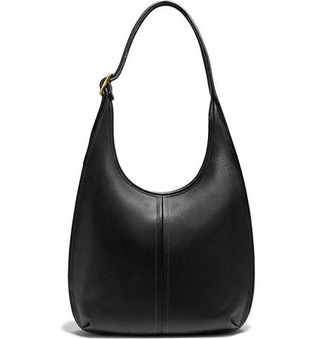 COACH The Coach Originals Ergo Leather Shoulder Bag   40plusstyle.com