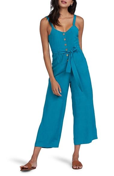 Roxy Mind Trip Crop Jumpsuit | 40plusstyle.com
