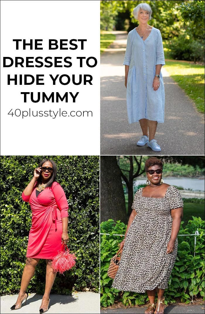 The best dresses to hide your tummy   40plusstyle.com