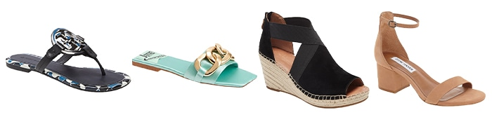 Shoes to wear with palazzo pants outfits | 40plusstyle.com